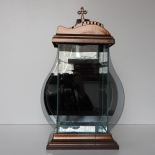 Lampion Dzban Lustro 2  wys. 40cm (6szt-op.)
