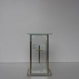 Lampion Glass BK  wys. 21cm (4szt-op.)
